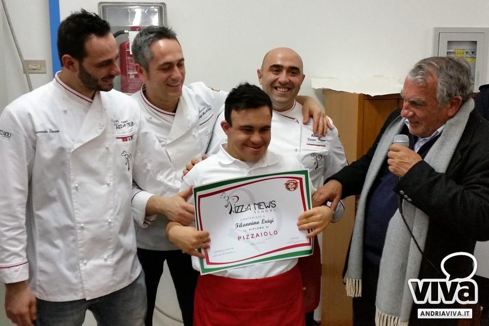SUCCESSO DEL CORSO PIZZAIOLI DOWN TARGATO PIZZA NEWS SCHOOL