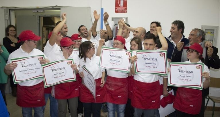 ANDRIALIVE SULL'INIZIATIVA DI PIZZA NEWS SCHOOL DEDICATA AI RAGAZZI DOWN