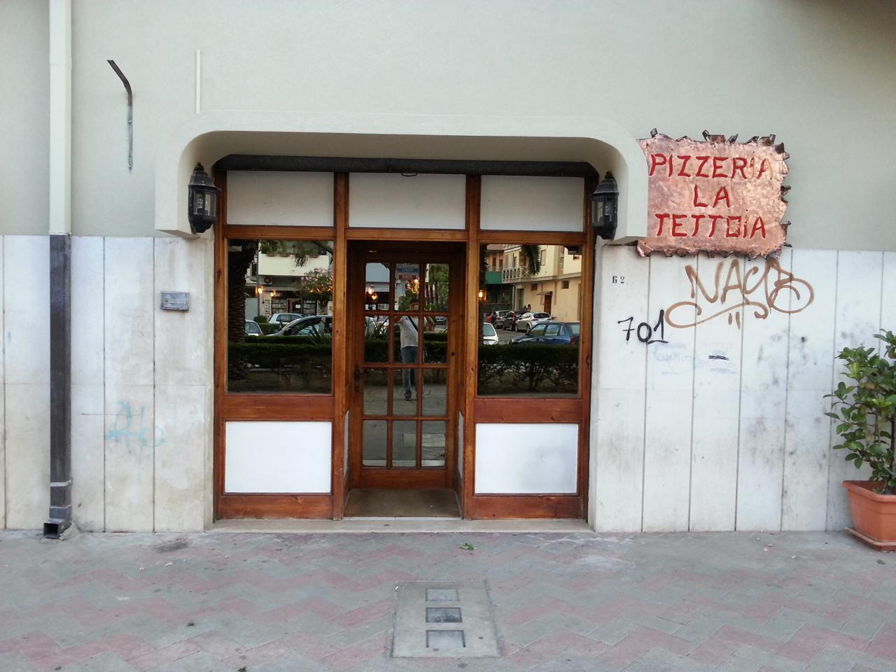 Pizzeria d'asporto La Tettoia