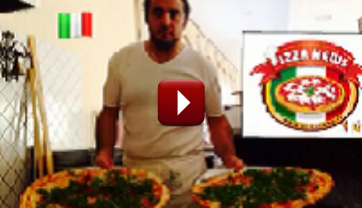 Video del Pizzaiolo Mario Petrolo